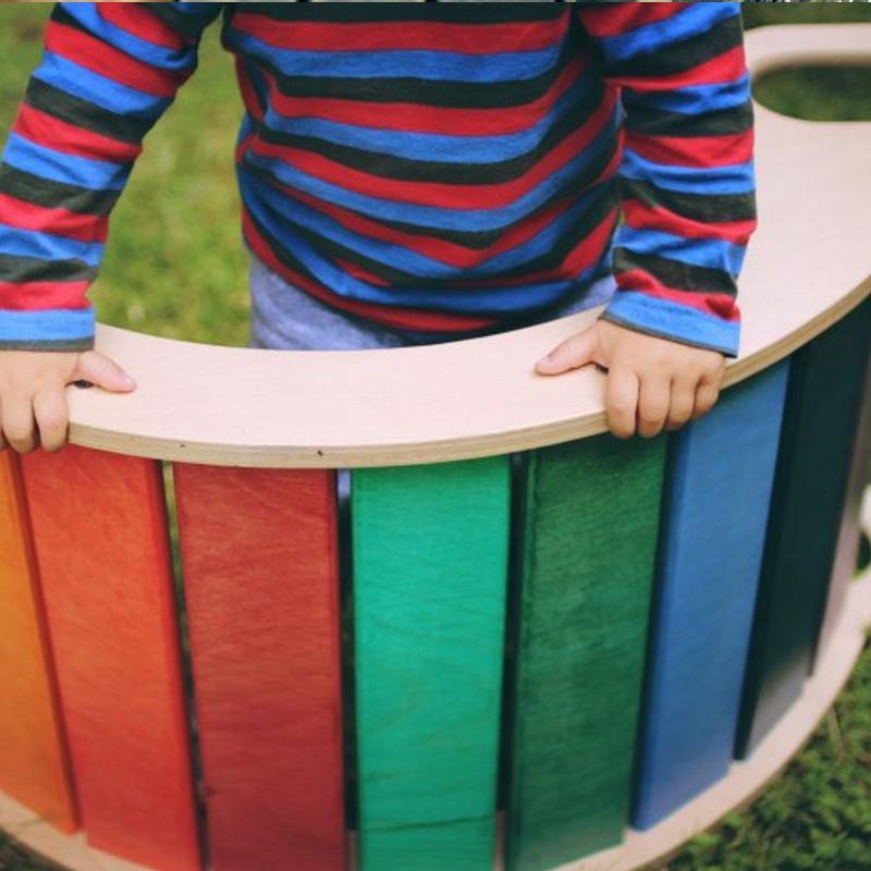 CURCUBEU - balansoar lemn masiv - 4248