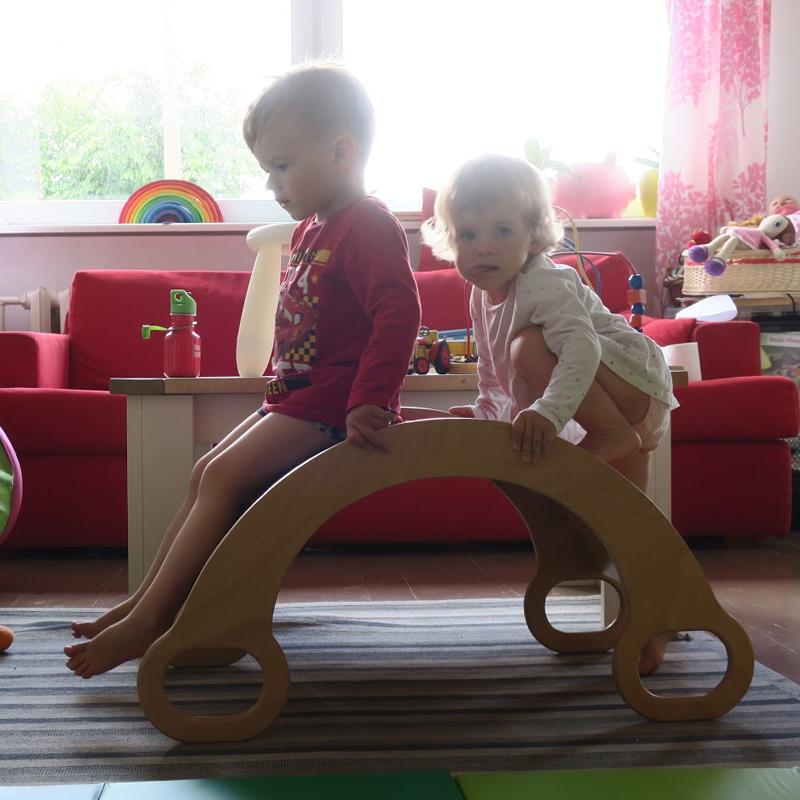 CURCUBEU - balansoar lemn masiv - 4251