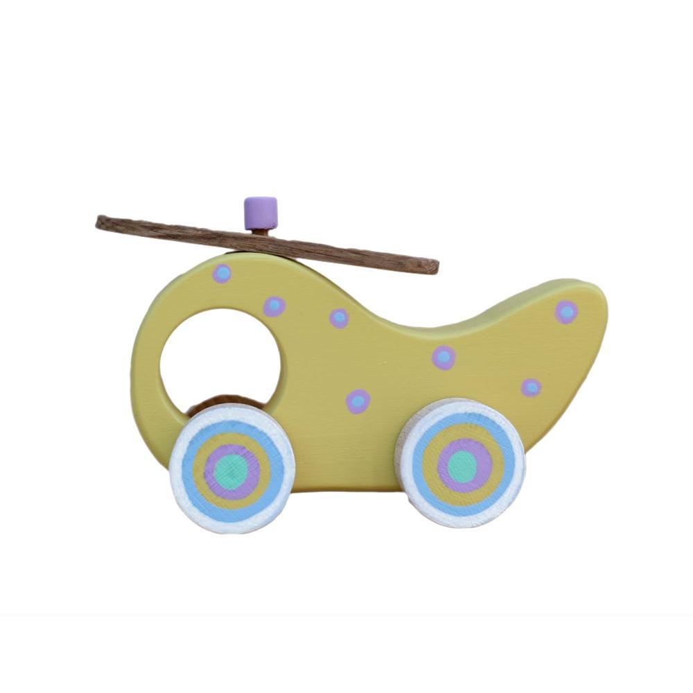ELICOPTER - jucării lemn 2 BUC
