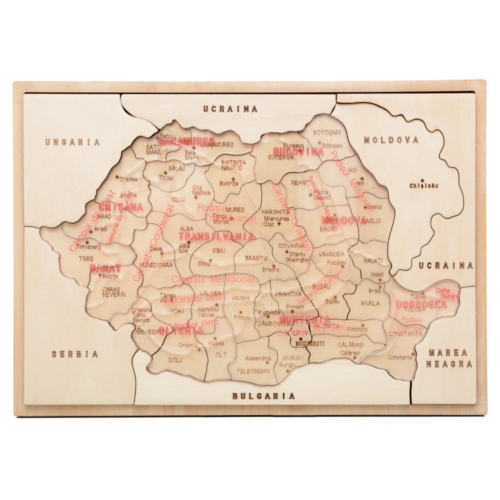 HAI SĂ ÎNVĂŢĂM DESPRE ROMÂNIA  – capitale de judeţ - 6868