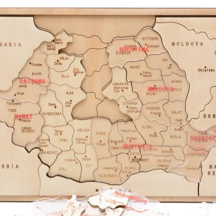 HAI SĂ ÎNVĂŢĂM DESPRE ROMÂNIA  – capitale de judeţ - 8677