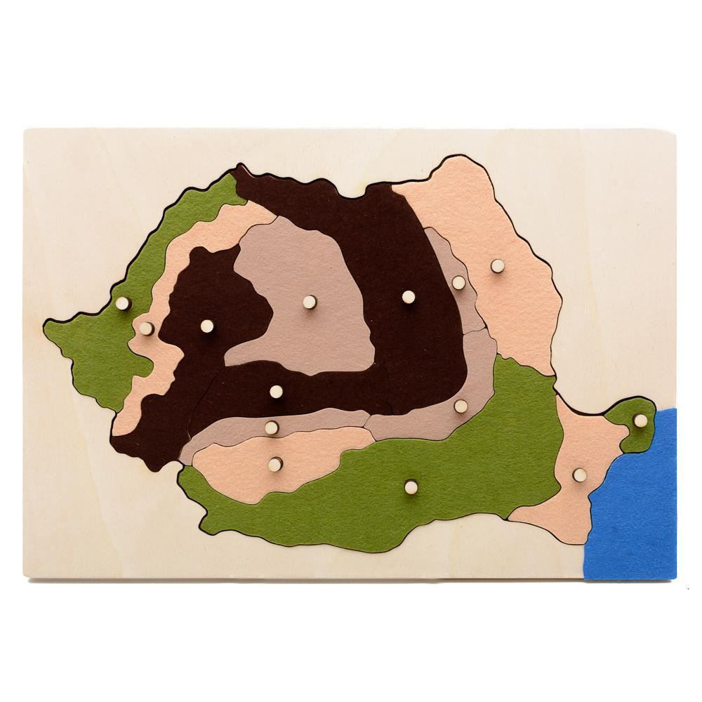 HAI SĂ ÎNVĂŢĂM DESPRE ROMÂNIA!  - forme majore de  relief