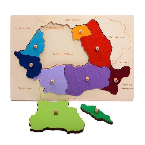 Hai Să Invăţăm Despre Romania Regiuni Istorice Decor Pentru Copii