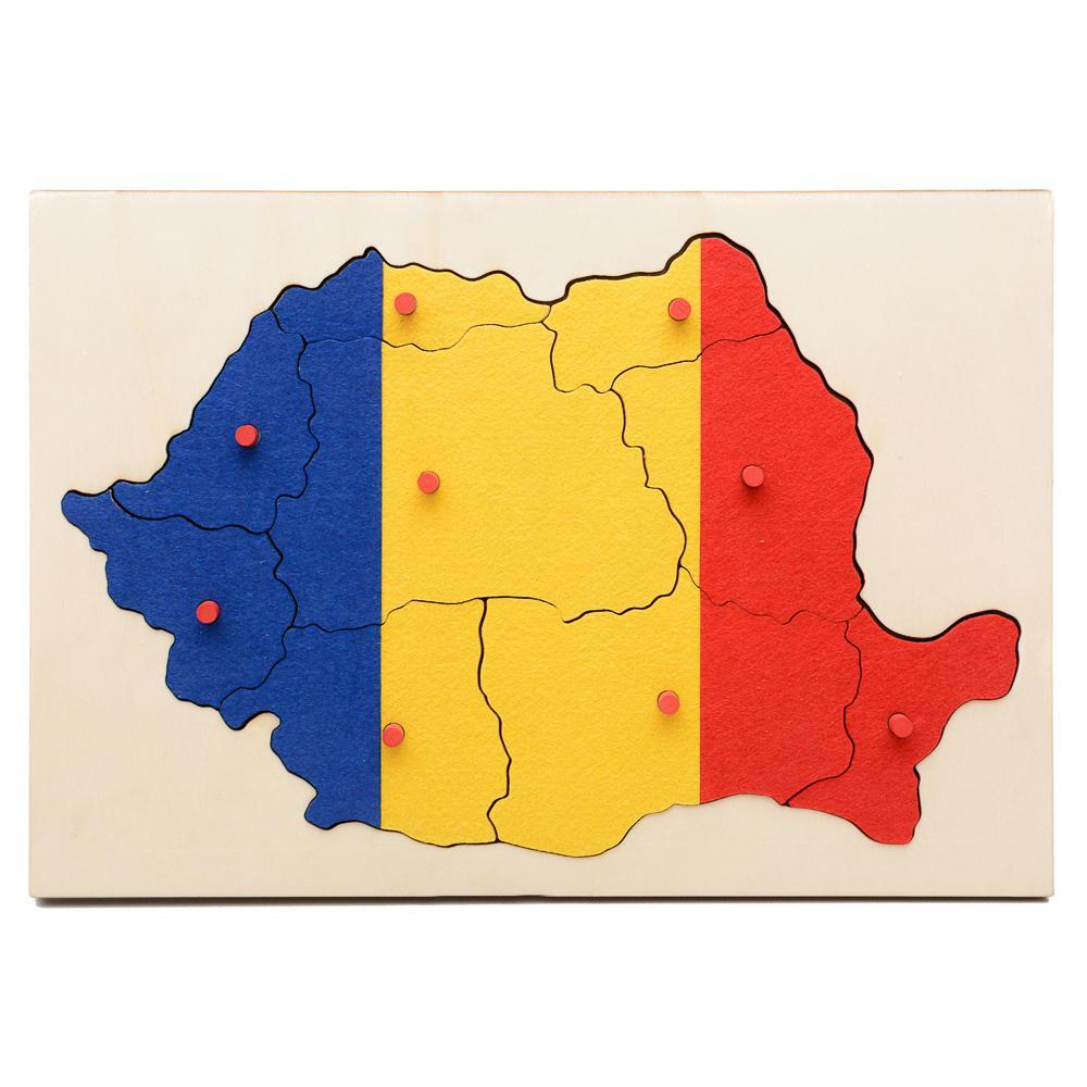 HAI SĂ ÎNVĂŢĂM DESPRE ROMÂNIA! - steag