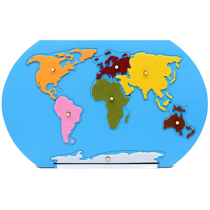 Să Invățăm Continentele Decor Pentru Copii