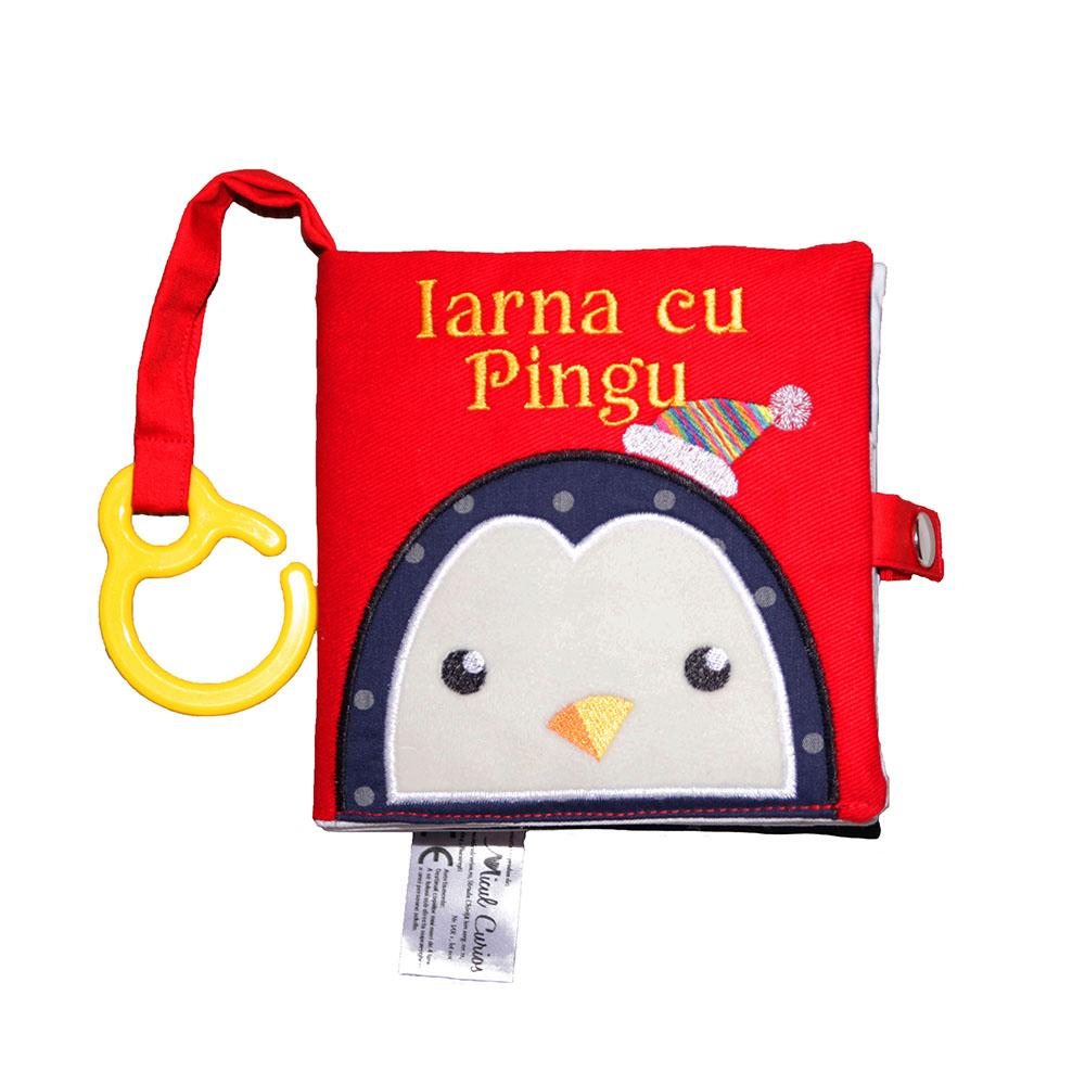 IARNA CU PINGU - cartea senzorială