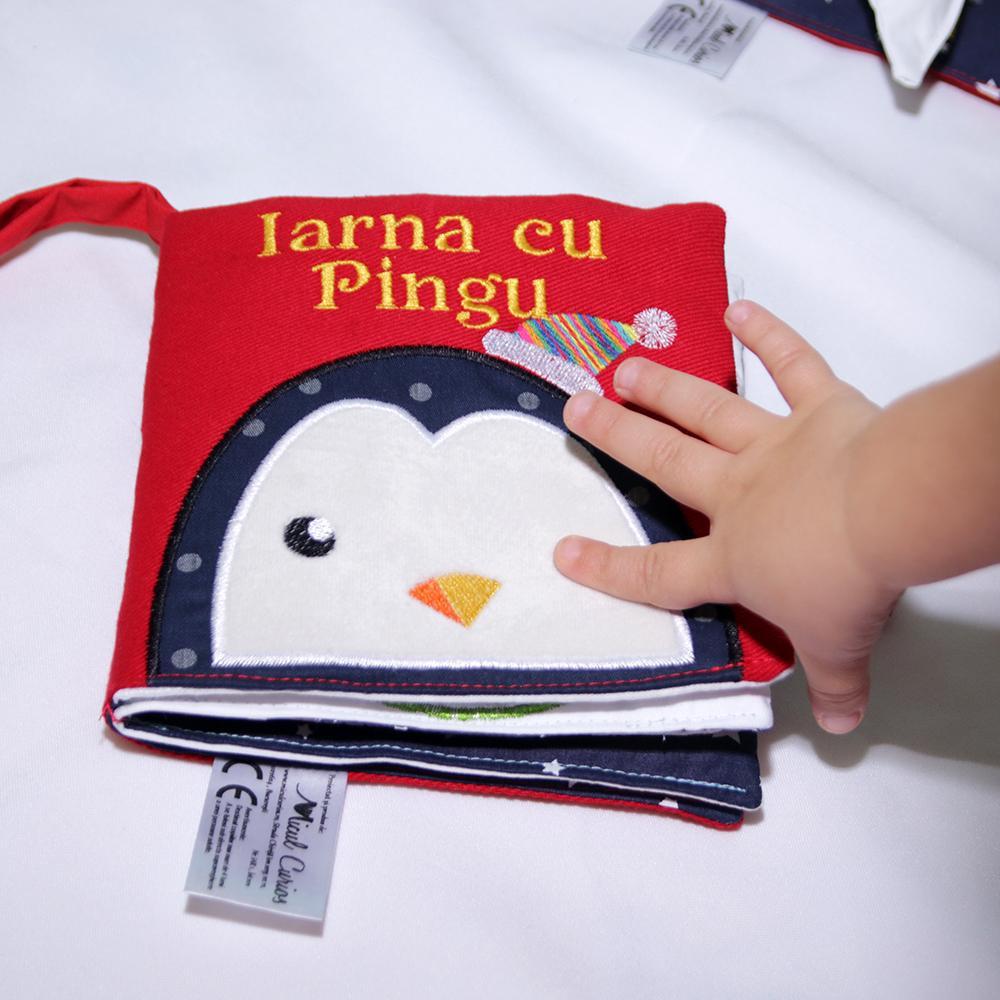 IARNA CU PINGU - cartea senzorială - 2352