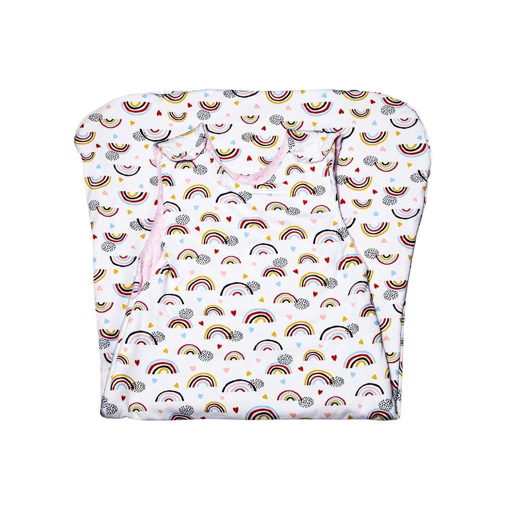 PINK RAINBOW - sac de dormit