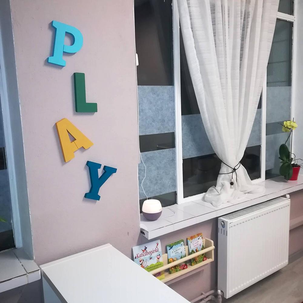 PLAY - set litere decorative