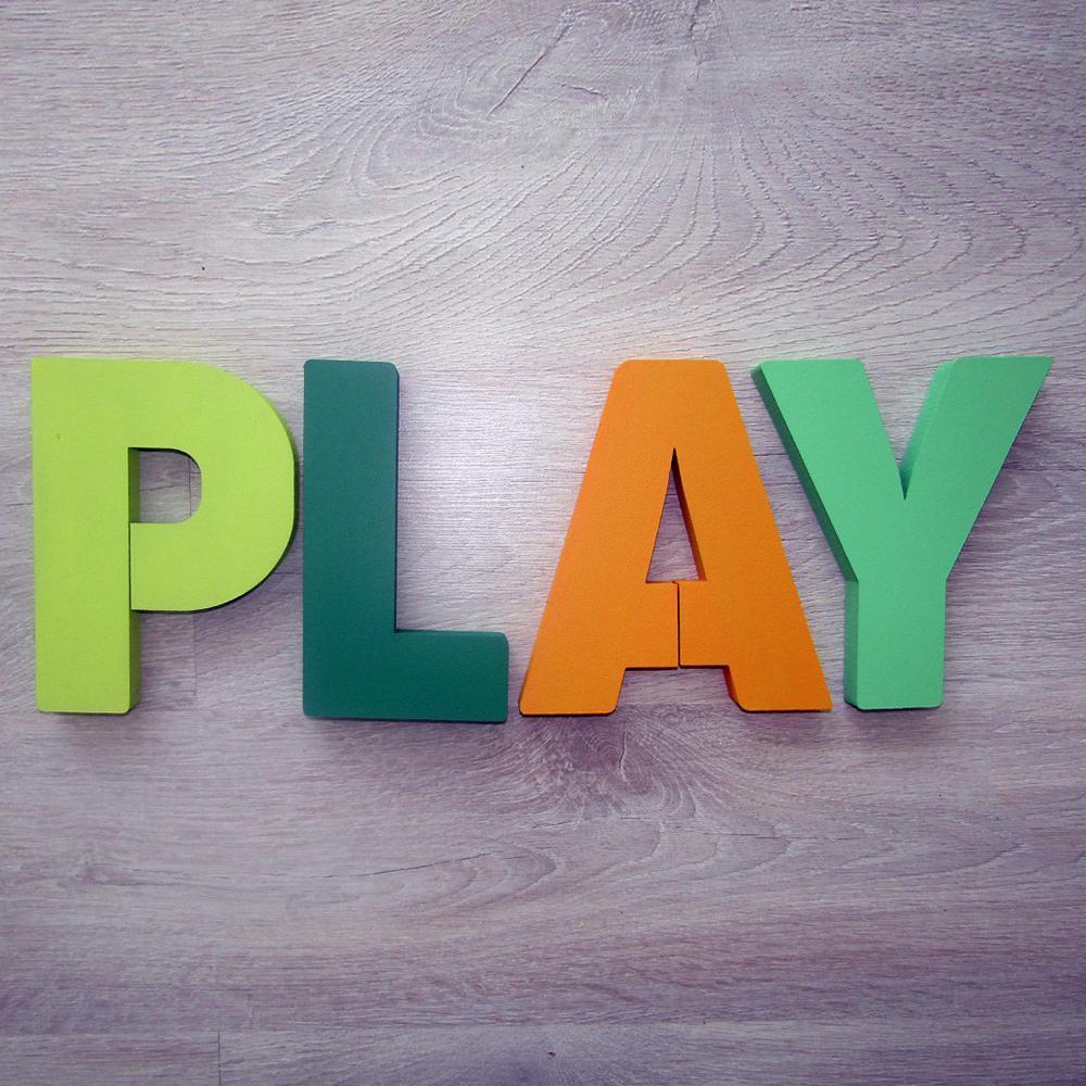 PLAY - set litere decorative - 8795