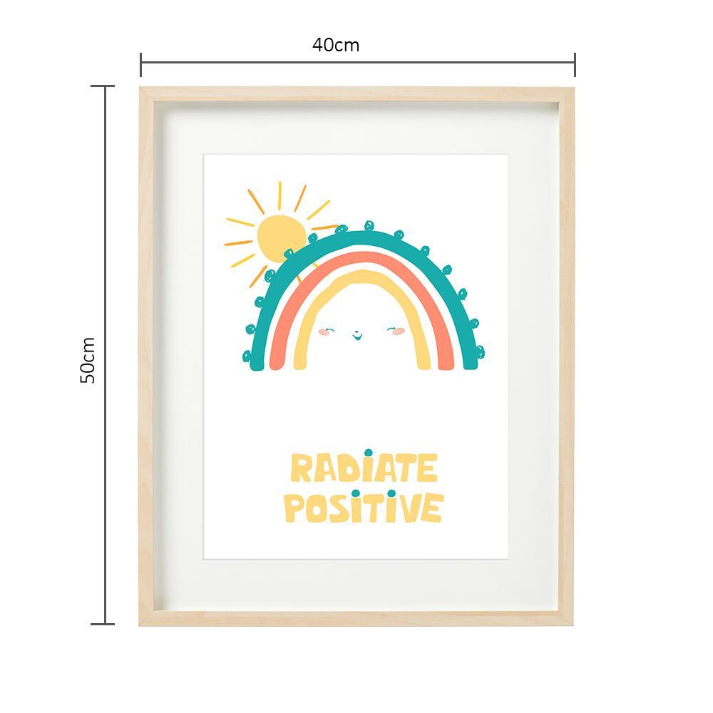 RADIATE POZITIV - tablou decorativ 40x50cm - 6486