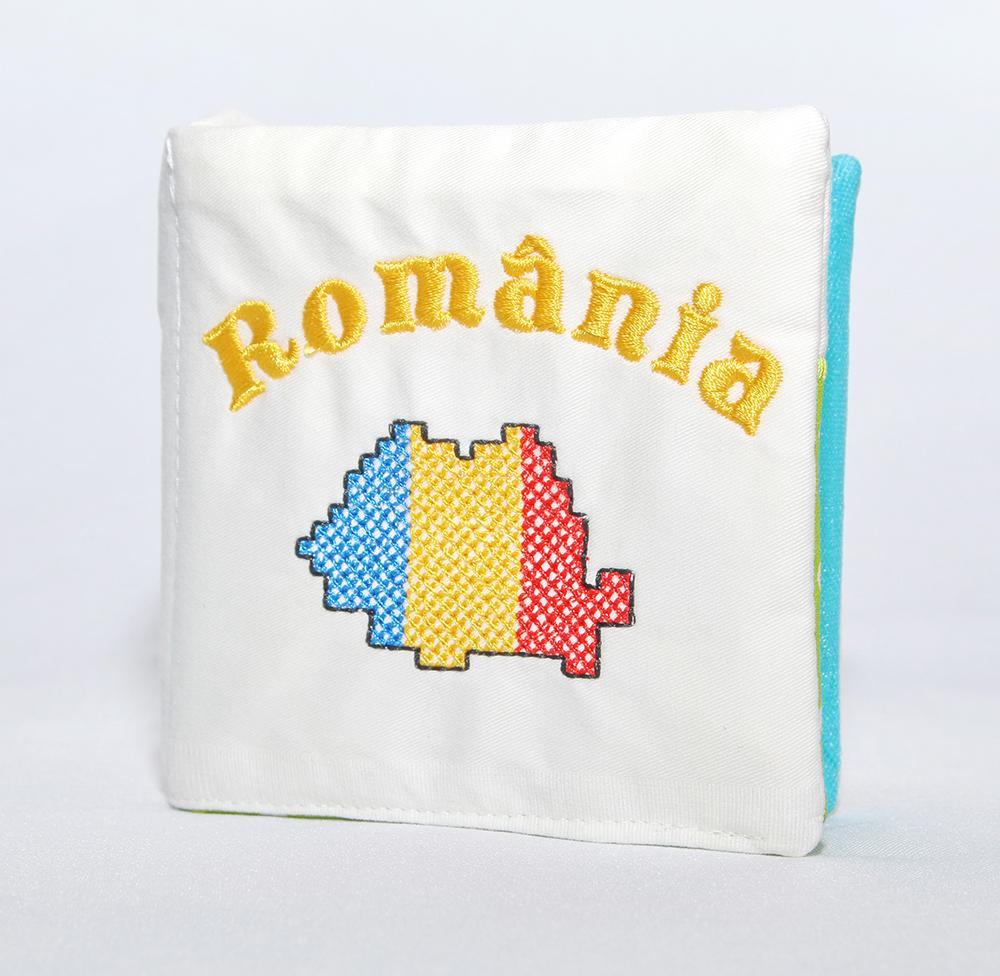 ROMÂNIA - ȚARA MEA! - cartea senzorială