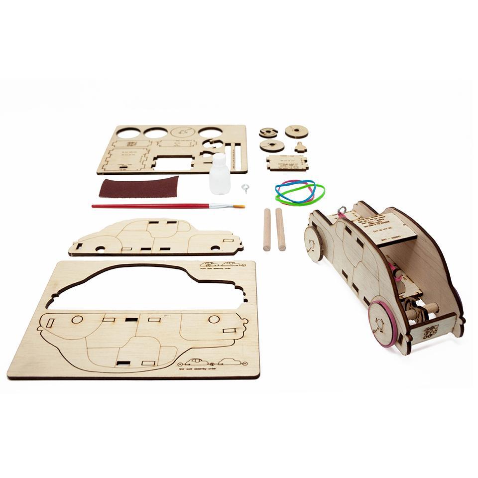 RUBO CAR - kit de asamblare