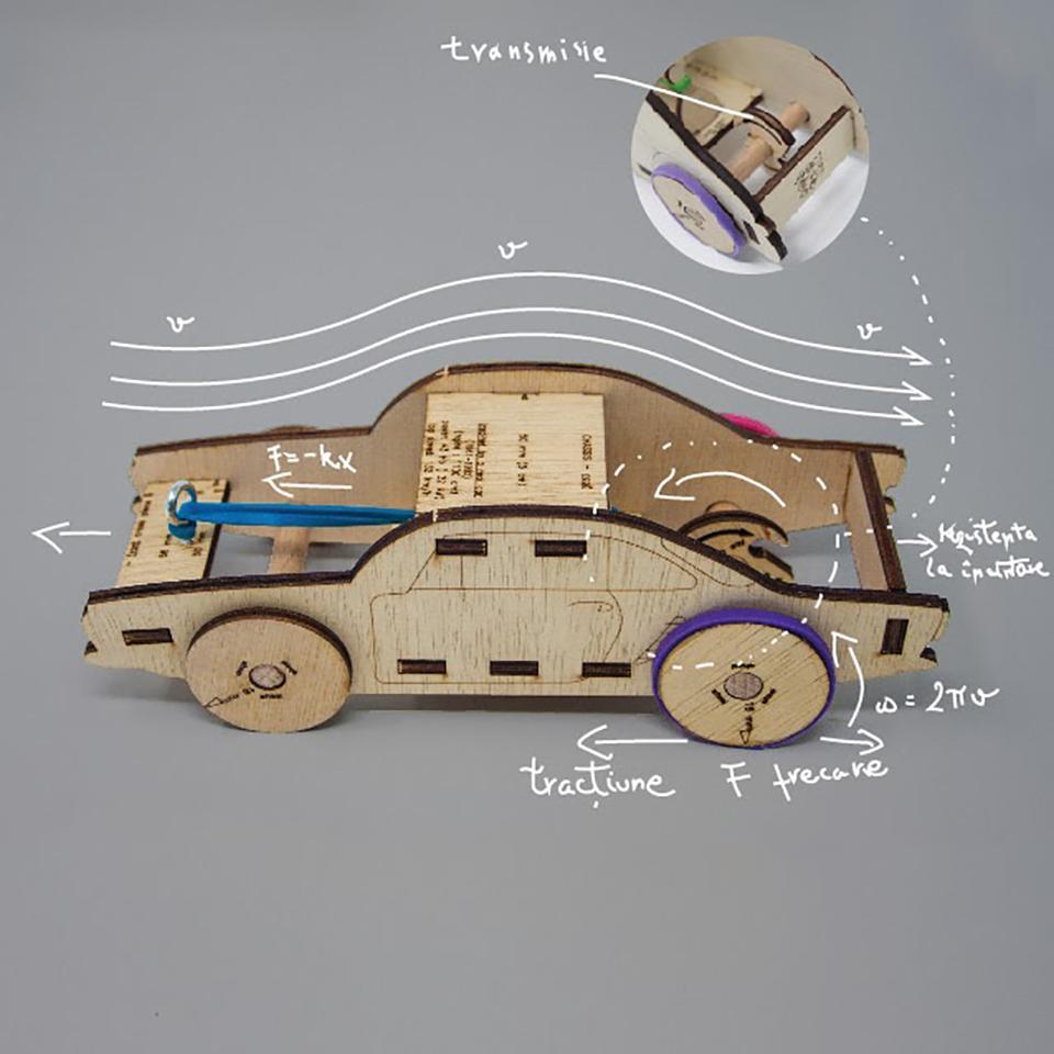 RUBO CAR - kit de asamblare - 6982