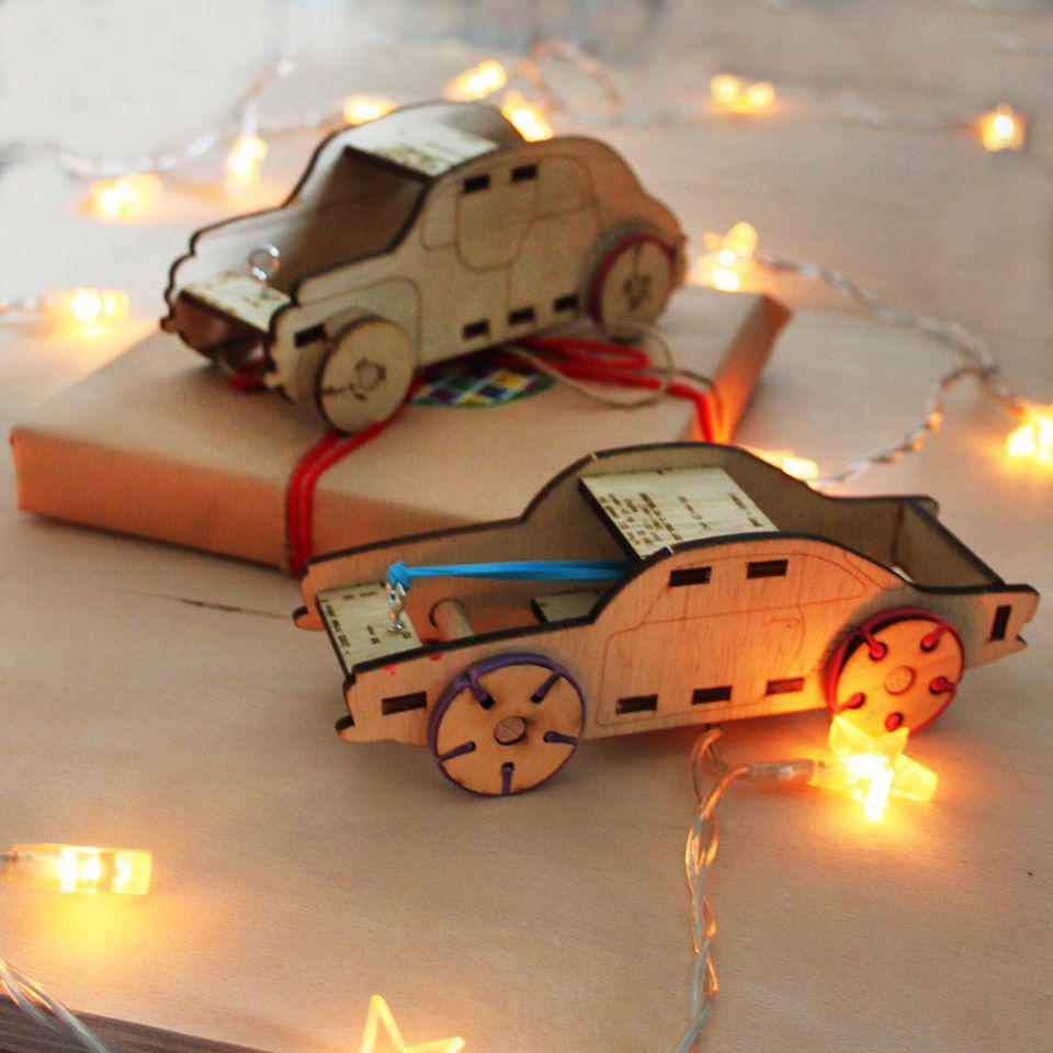 RUBO CAR - kit de asamblare - 6983