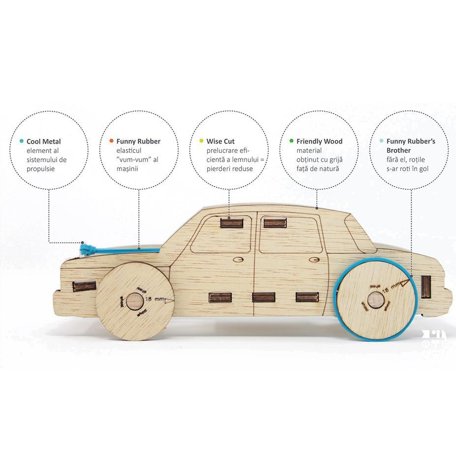 RUBO CAR - kit de asamblare - 6984