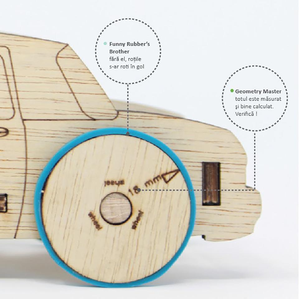 RUBO CAR - kit de asamblare - 6987