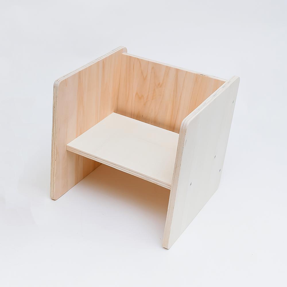 Scaun cub multifuncțional montessori