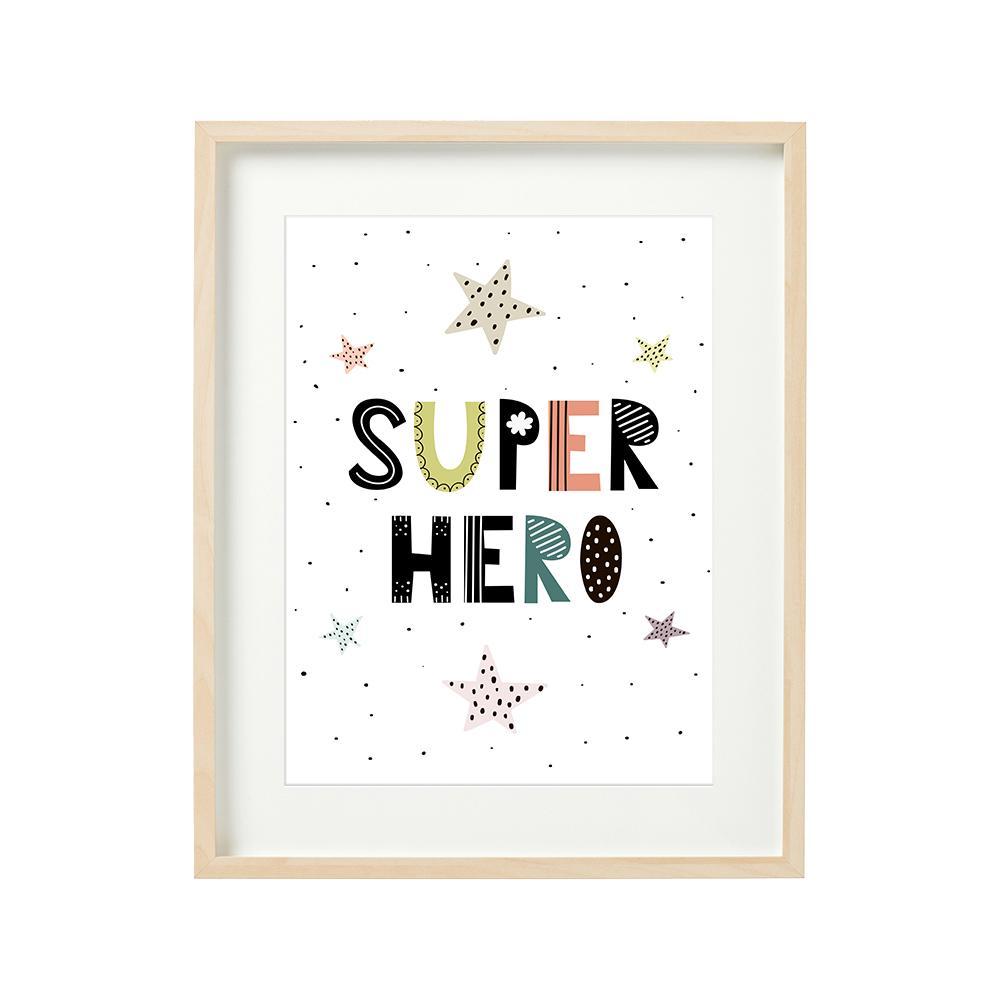 SUPER HERO - set 2 tablouri decorative 40x50cm  - 7017