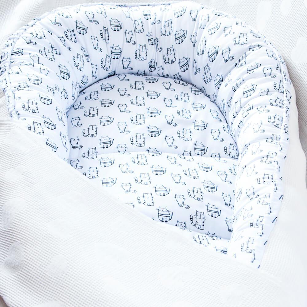 SWEET KITTY - culcuș babynest - 3975